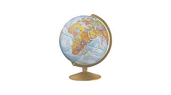 Maps, Globes and Magnifiers