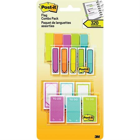 Languettes Post-it® en paquet prime