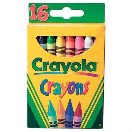 Crayons de cire Crayola®