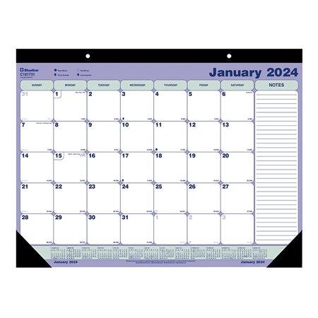 Calendrier sous-main mensuel (2022)