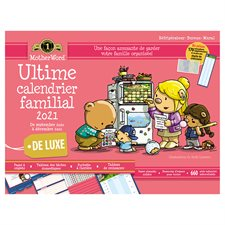 Calendrier familial de frigo MotherWord® (2021)