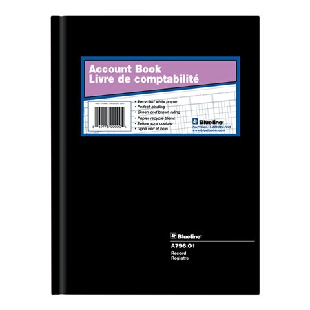 A796 Accounting Book