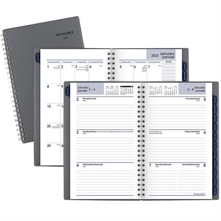 Traditional Recycled Weekly / Monthly Diary (2021)