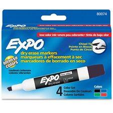 Marqueur effaçable à sec pour tableau blanc Expo® à faible odeur