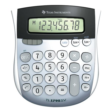 TI-1795SV Desktop Calculator