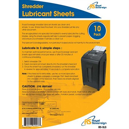 RS-SLS Lubricant Sheets