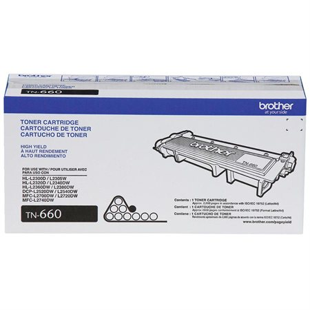 TN-660 Toner Cartridge