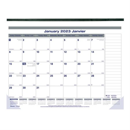 Net Zero Carbon™ Monthly Desk Pad Calendar (2020)