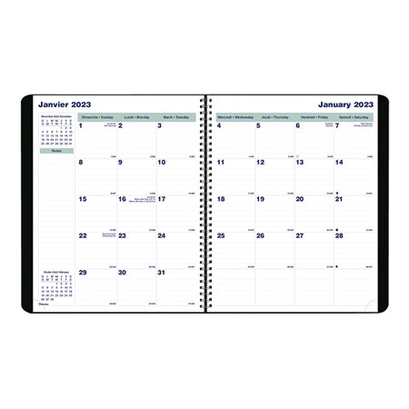 16-Month Monthly Diary (2022)