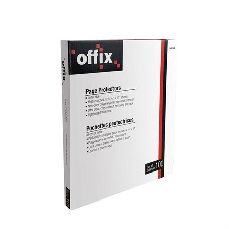 Offix® Page Protectors
