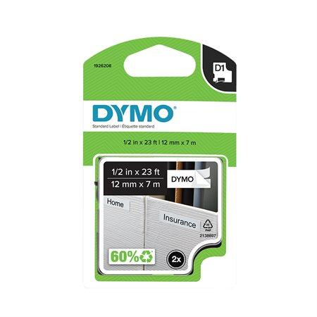 Cartouches D1 pour étiqueteuses Dymo®