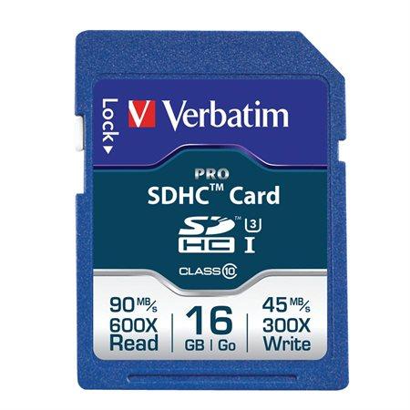 Carte mémoire Pro UHS-1
