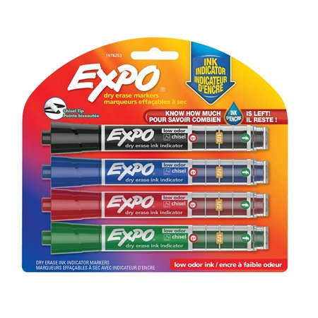Dry Erase Whiteboard Marker with Ink Indicator