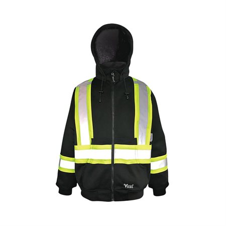 Manteau de sécurité molletonné à capuchon
