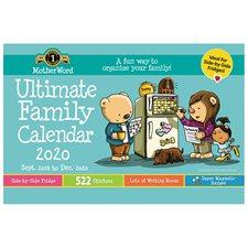Calendrier familial de frigo MotherWord® (2020)