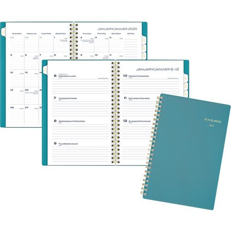Colour Bar Weekly / Monthly Planner (2020)