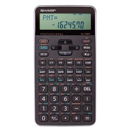 EL-738XTB Financial and Scientific Calculator