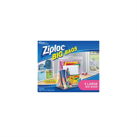 Grands sacs Ziploc® avec double fermeture à glissière