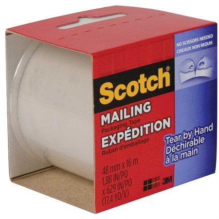 Ruban d'emballage déchirable Scotch®