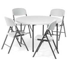 Table ronde pliable Lite Lift II