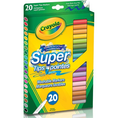 Marqueurs à colorier Super pointes