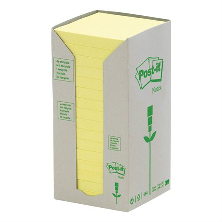 Feuillets autoadhésifs recyclés Post-it®