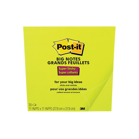 Grands feuillets autoadhésifs Post-it®