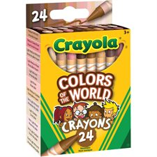 Colours of the World Crayons