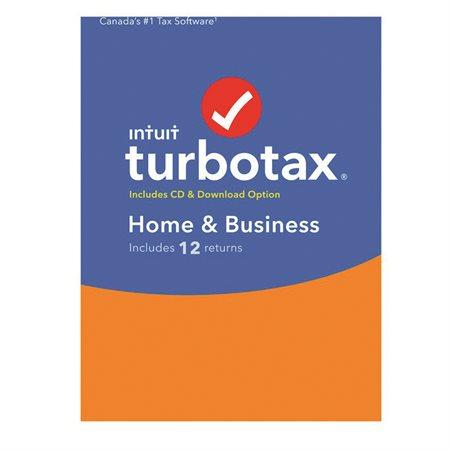 TurboTax 2020 particuliers et entreprise.