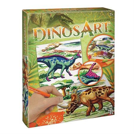 Strass par numéros DinosArt